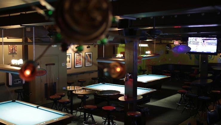 Rocket Bar  Washington DC  Pool Shuffleboard Music Beer