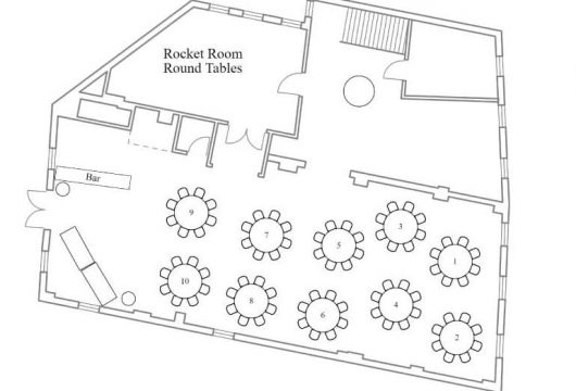 Events & Meetings in the Rocket Room-Location, Location