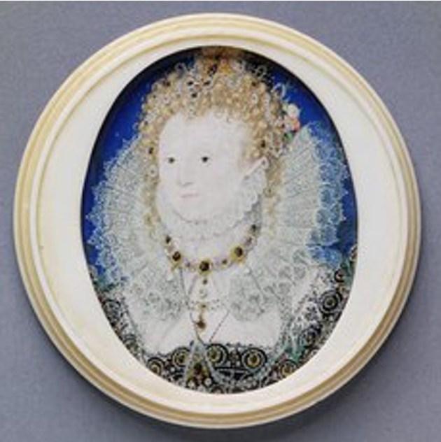 Elizabeth I by Nicholas Hilliard