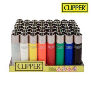 authentic clipper multi colour reusable lighters