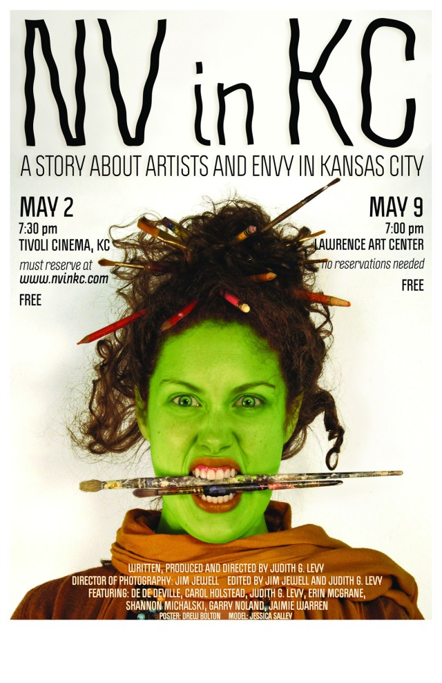 There will be an additional screening of NV in KC at the Lawrence Art Center on     May 9th at 7 pm. Free admission, No reservations required!
