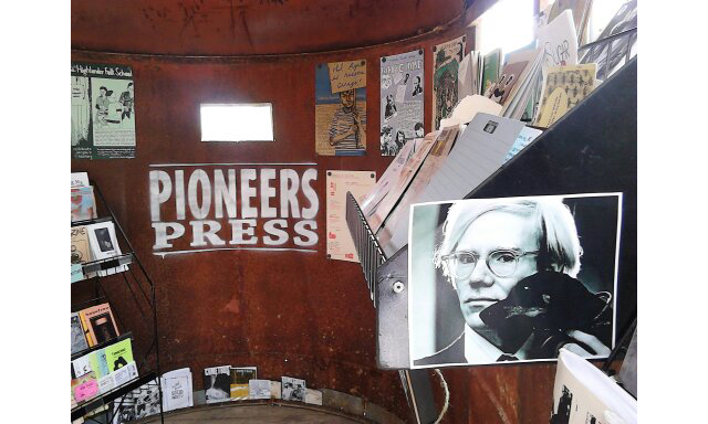 andy and pioneers press