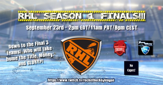 RHL Season 1 Finals