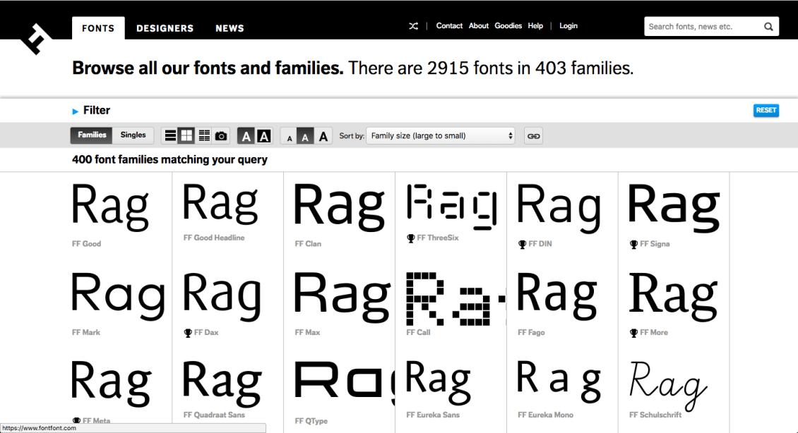 fontfont premium fonts