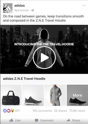Παράδειγμα διαφήμισης βίντεο συλλογής