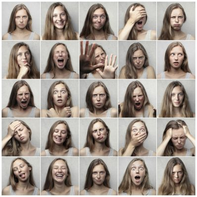 Examples of facial expressions