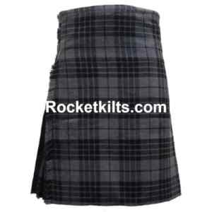 Grey tartan Kilt, Grey Watch hybrid Kilt, Grey Watch tartan, quality kilts, canvas kilt, black watch tartan, wool kilt, wool tartan kilts,kilt sale, kilt buy, kilt for sale