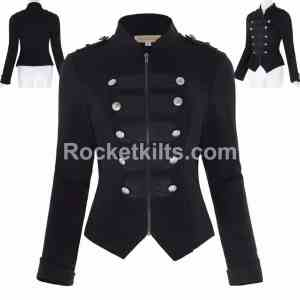 black parade jacket,black parade jacket diy,limited edition black parade jacket,gothic military ajcket, gothic jackets
