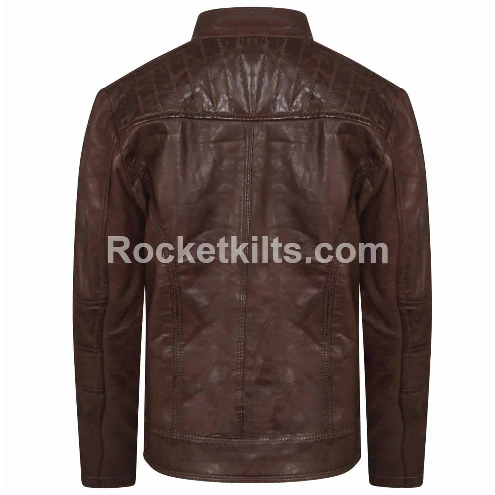 ef0d2f579d5df New Style Handmade Brown Leather Jacket For Women