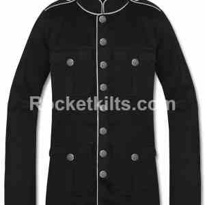 mens military style pea coat,mens military peacoat,sterlingwear peacoat