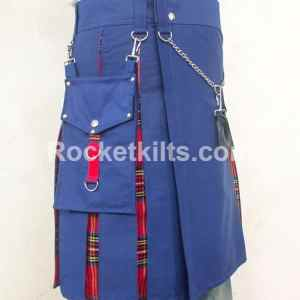 hybrid kilts,fashion kilts, hybrid fashion kilt, fashion kilt, blue kilt, everyday kilts,mens utility kilts