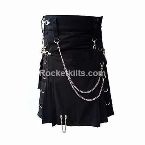 Dark black color kilt