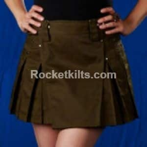 ladies utility kilt,olive green, short kilt,kilt for sale, utility kilt,kilt buy, great kilt, ladies kilt,women kilt