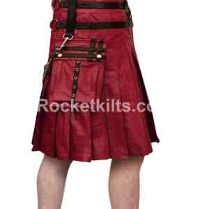 mens leather gladiator kilt,mens gladiator kilt,black leatehr kilt,leather kilt, leather kilts,gladiator kilt,brown leather kilt