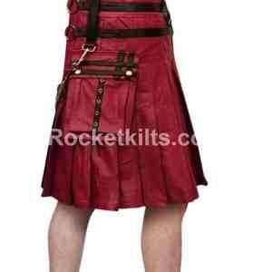 mens leather gladiator kilt,mens gladiator kilt,black leatehr kilt,leather kilt, leather kilts,gladiator kilt,brown leather kilt