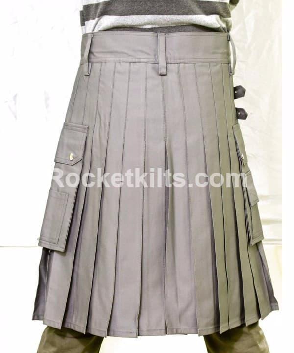 Grey Fashion kilts