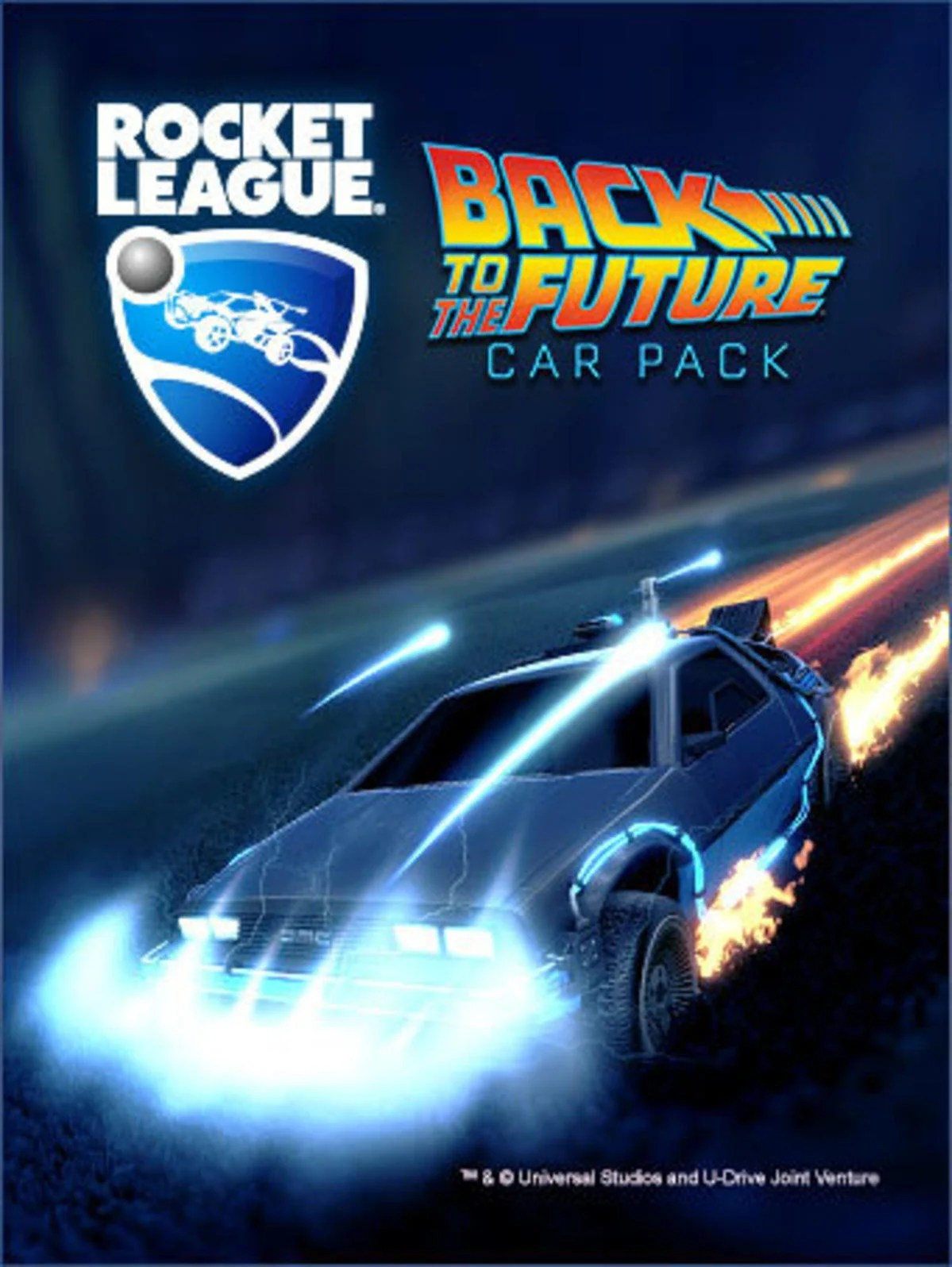 Super Fast Car Wallpaper Back To The Future Rocket League 174 Official Site