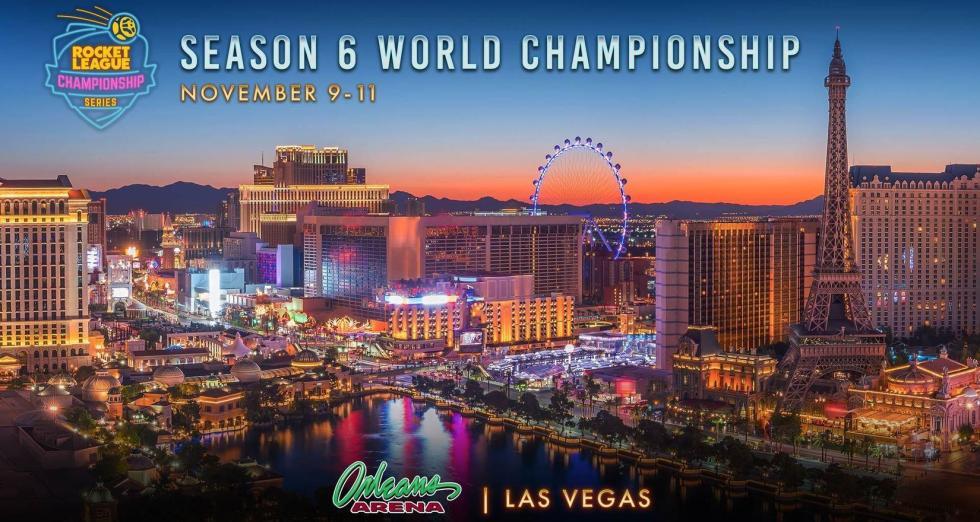 RLCS Season 6 World Championship is Heading to Vegas! Image