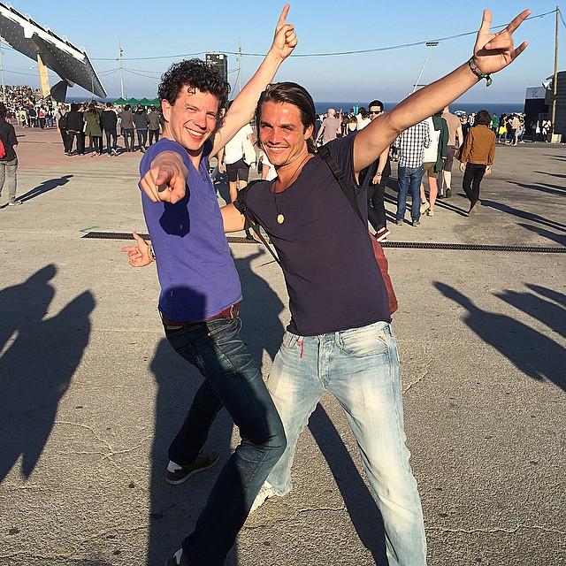 Jos de Lange y Tom Verbeek de Holanda en el #PrimaveraSound2015 #mejoreslooksdechico #mejoreslooksdechico #streetstyle