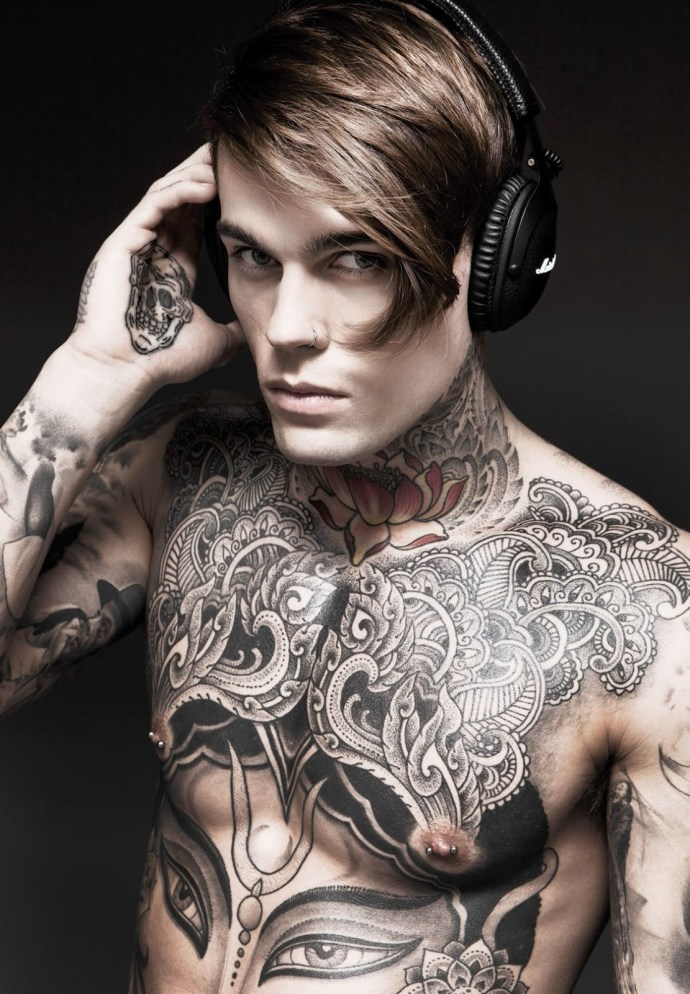 A Disrobed Stephen James by Darren Black | Hedonist 9