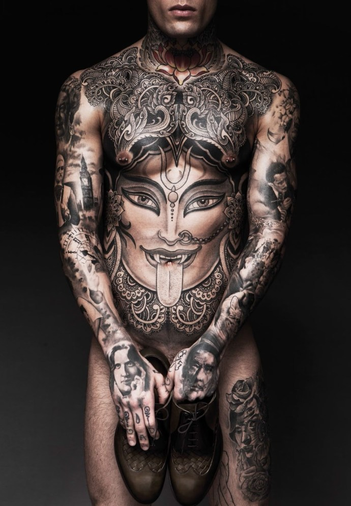 A Disrobed Stephen James by Darren Black | Hedonist
