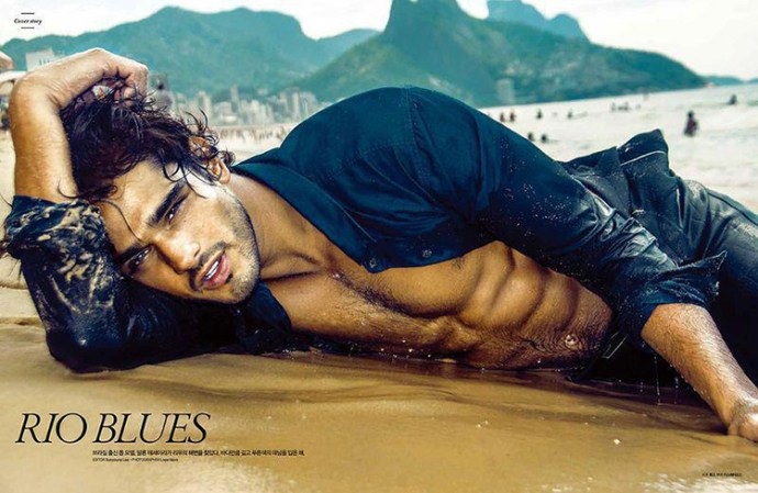 Marlon In Rio By Lope Navo  For L'Officiel Hommes Korea