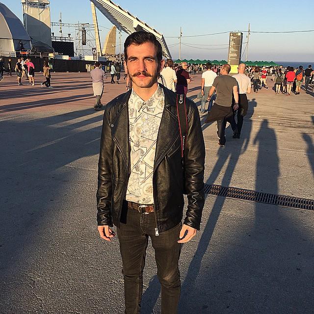 @Tiago.pinho_ de Portugal en el #PrimaveraSound2015 #mejoreslooksdechico #mejoreslooksdechico #streetstyle