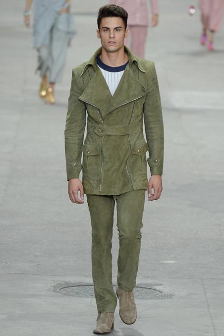 Chanel Spring Summer 2015 Menswear Baptiste Giabiconi