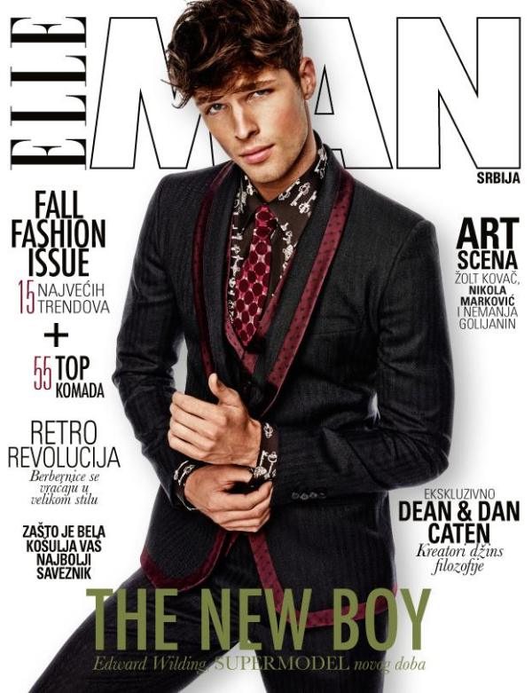 Elle-Man-Serbia-Edward-Wilding-Cover