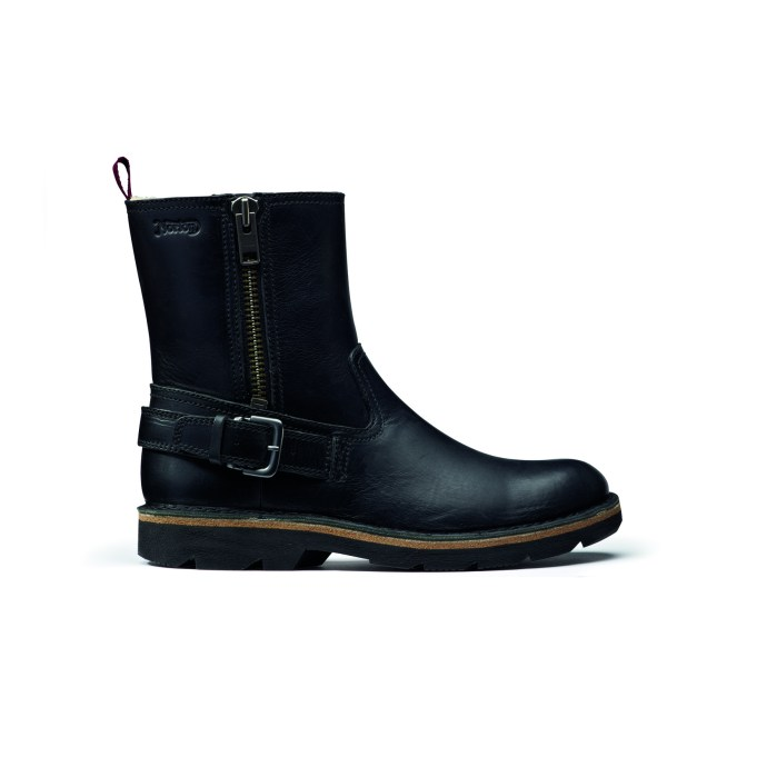 Mellor Zip Black Leather