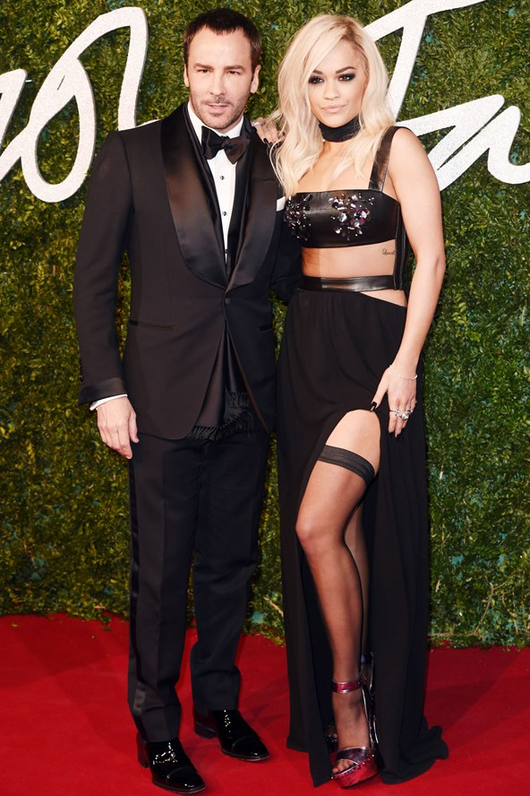 Tom Ford British Fashion Awards 2014
