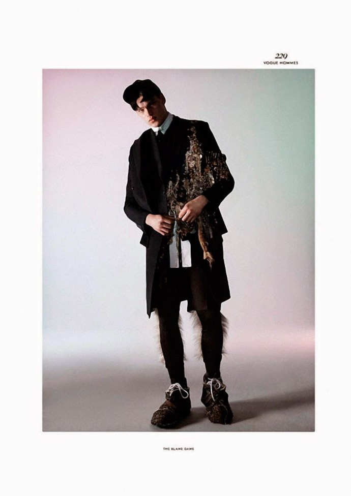 FILIP HRIVNAK PARA  VOGUE HOMMES INTERNATIONAL POR DAVID SIMS 7