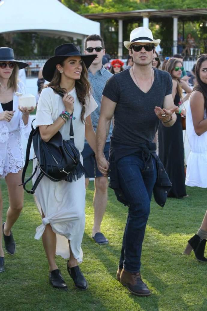 ian somerhalder Coachella 2015