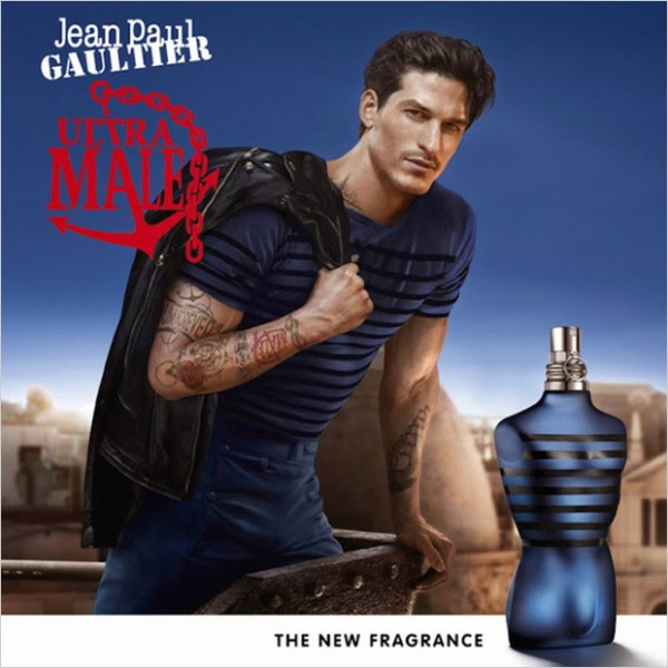 JARROD SCOTT PARA ULTRA MALE FRAGRANCE CAMPAÑA 1