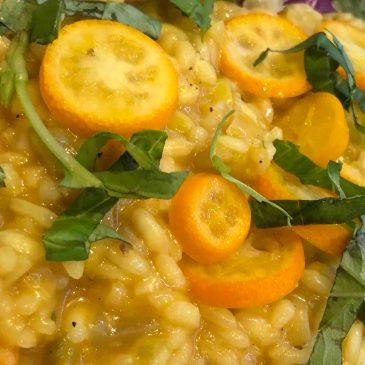 kumquat risotto
