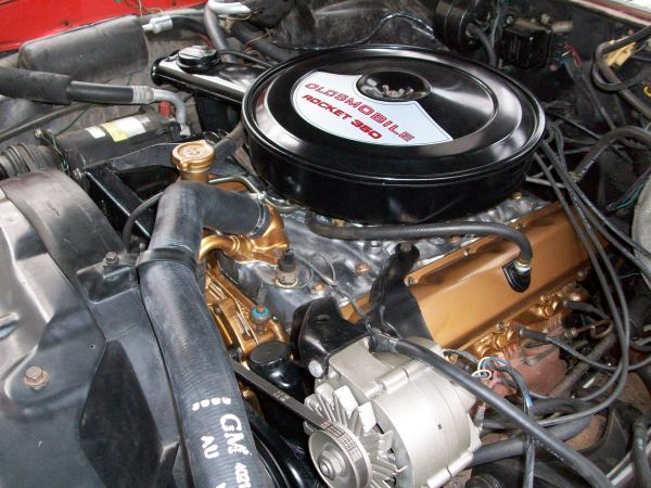 Oldsmobile 455 Rocket Engine - Year of Clean Water