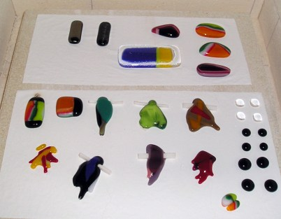 Cabochons After Firing