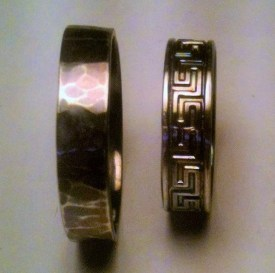 Rings Hammered