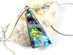 Colour Slashed Faceted Jefanite™ Gem Pendant