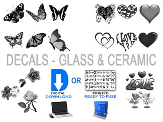 Decals - Glass & Ceramic
