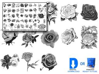 Rose Decals