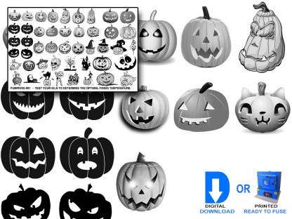 Pumpkins Decals