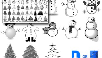 christmas decals 02 snowman christmas tree decals fused glass decals ceramic decals sepia - Christmas Decals For Glass