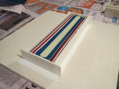 Fused Glass Pattern Bar
