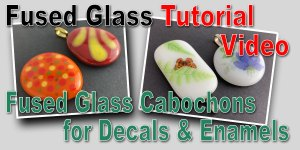 Making Plain Cabochons for Decals & Enamels
