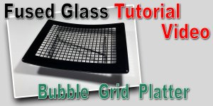 Making a Bubble Grid Platter