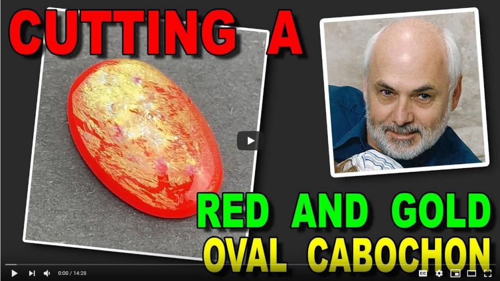 Oval Cabochon Cutting