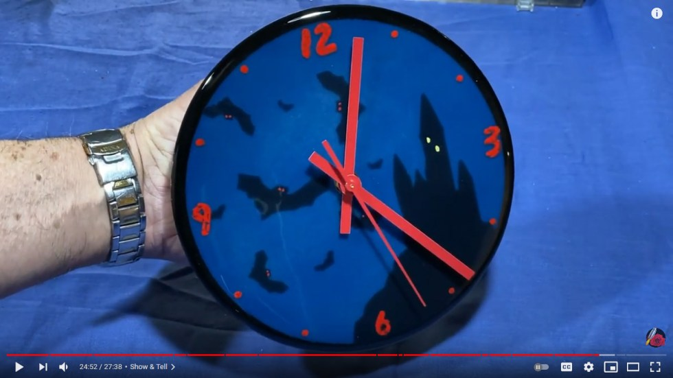 Fused Glass Clock Tutorialll
