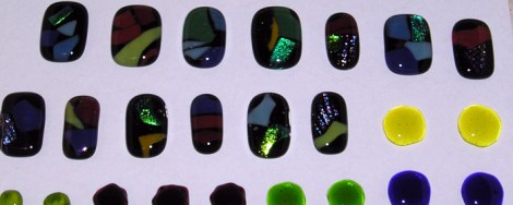 Clear Capped Cabochons