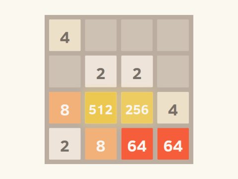 Variations of 2048